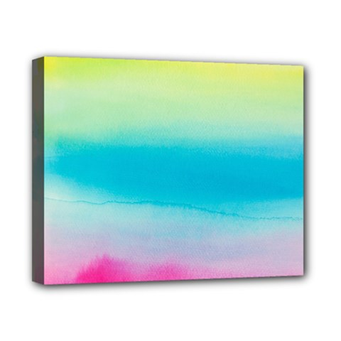 Watercolour Gradient Canvas 10  X 8
