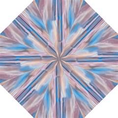 Vertical Abstract Contemporary Folding Umbrellas