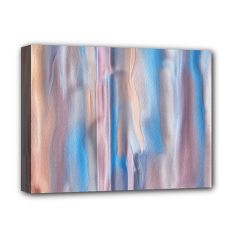 Vertical Abstract Contemporary Deluxe Canvas 16  X 12