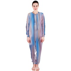 Vertical Abstract Contemporary OnePiece Jumpsuit (Ladies)