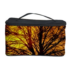 Moon Tree Kahl Silhouette Cosmetic Storage Case by Nexatart