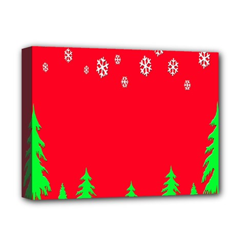 Merry Christmas Deluxe Canvas 16  X 12   by Nexatart