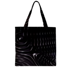 Fractal Mathematics Abstract Zipper Grocery Tote Bag by Nexatart