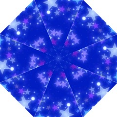 Star Bokeh Background Scrapbook Straight Umbrellas by Nexatart