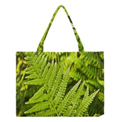 Fern Nature Green Plant Medium Tote Bag by Nexatart