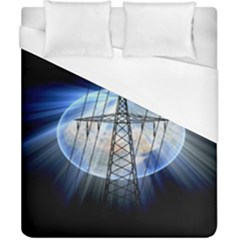 Energy Revolution Current Duvet Cover (california King Size) by Nexatart