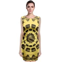 Gears Classic Sleeveless Midi Dress