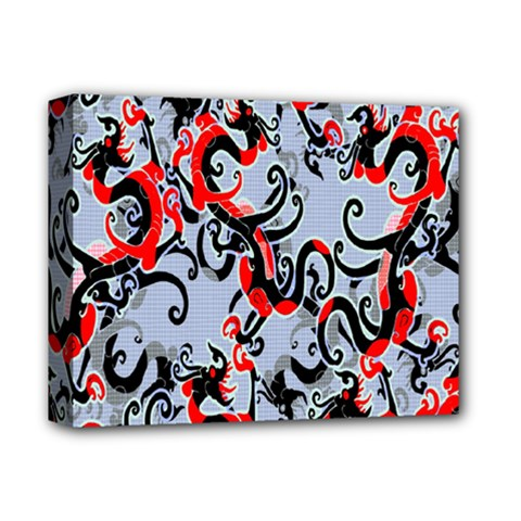 Dragon Pattern Deluxe Canvas 14  X 11  by Nexatart