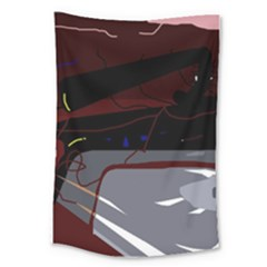 Abstraction Large Tapestry by Valentinaart
