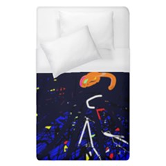 Abstraction Duvet Cover (single Size) by Valentinaart