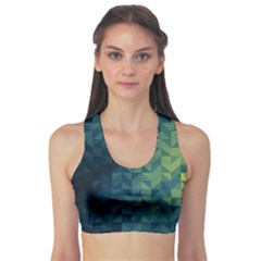 Gradiant blue Sports Bra by Brittlevirginclothing