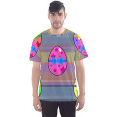 Holidays Occasions Easter Eggs Men s Sport Mesh Tee