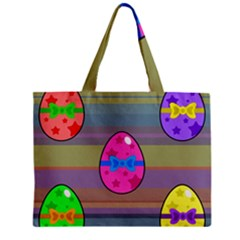 Holidays Occasions Easter Eggs Zipper Mini Tote Bag