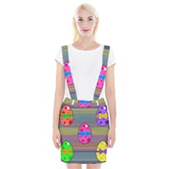 Holidays Occasions Easter Eggs Suspender Skirt