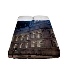 Montreal Quebec Canada Building Fitted Sheet (full/ Double Size) by Nexatart