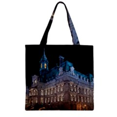 Montreal Quebec Canada Building Zipper Grocery Tote Bag