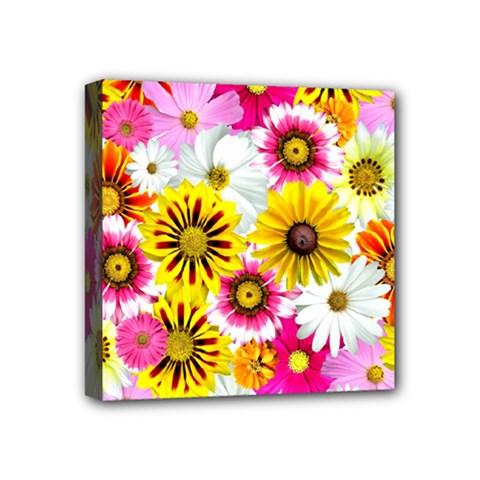 Flowers Blossom Bloom Nature Plant Mini Canvas 4  X 4
