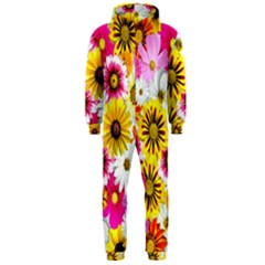 Flowers Blossom Bloom Nature Plant Hooded Jumpsuit (men)  by Nexatart