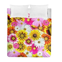 Flowers Blossom Bloom Nature Plant Duvet Cover Double Side (full/ Double Size) by Nexatart