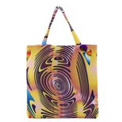 Ethnic Tribal Pattern Grocery Tote Bag by Nexatart