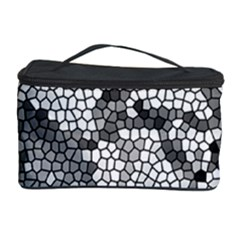 Mosaic Stones Glass Pattern Cosmetic Storage Case