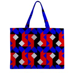 Pattern Abstract Artwork Zipper Mini Tote Bag