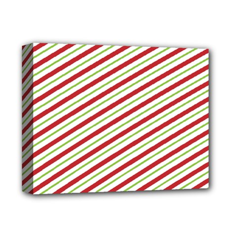 Stripes Deluxe Canvas 14  X 11