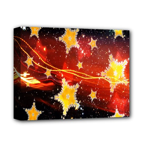 Holiday Space Deluxe Canvas 14  X 11