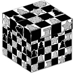 Xmas Checker Storage Stool 12   by Nexatart