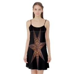 Star Light Decoration Atmosphere Satin Night Slip by Nexatart