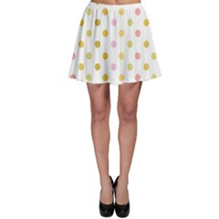 Polka Dots Retro Skater Skirt