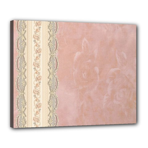Guestbook Background Victorian Canvas 20  X 16