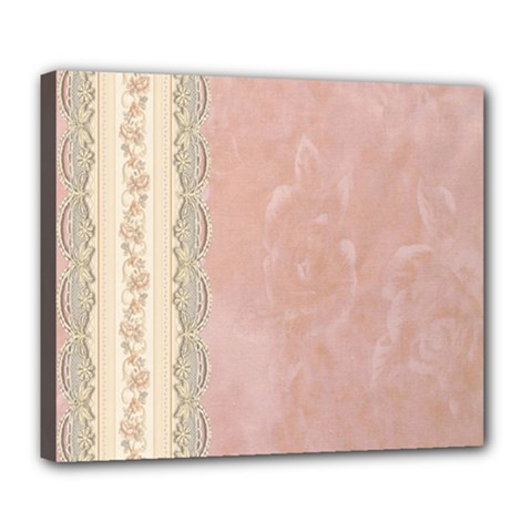 Guestbook Background Victorian Deluxe Canvas 24  X 20   by Nexatart