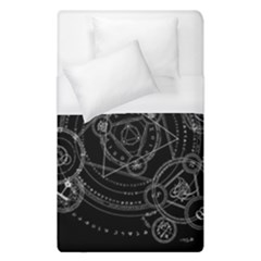 Formal Magic Circle Duvet Cover (single Size) by Nexatart
