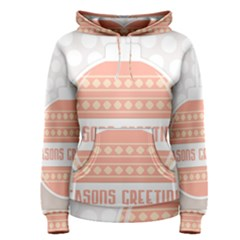 Merry Christmas Women s Pullover Hoodie by Nexatart