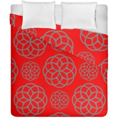 Geometric Circles Seamless Pattern Duvet Cover Double Side (california King Size) by Nexatart