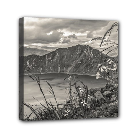 Quilotoa Lake Latacunga Ecuador Mini Canvas 6  X 6  by dflcprints