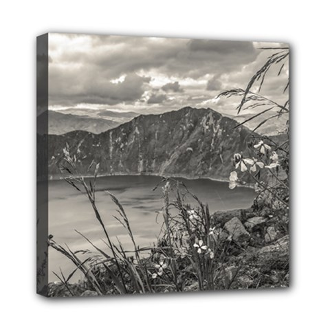 Quilotoa Lake Latacunga Ecuador Mini Canvas 8  X 8  by dflcprints