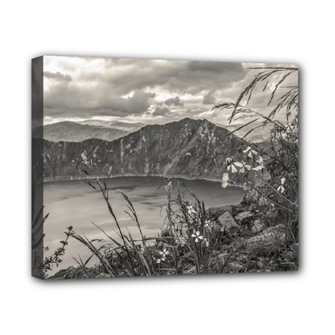 Quilotoa Lake Latacunga Ecuador Canvas 10  X 8  by dflcprints