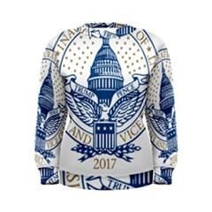 Presidential Inauguration USA Republican President Trump Pence 2017 Logo Women s Sweatshirt by yoursparklingshop