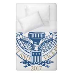 Presidential Inauguration Usa Republican President Trump Pence 2017 Logo Duvet Cover (single Size)