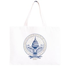 President Trump_Inaugural_Logo Inauguration Pence Seal USA 2017 Zipper Large Tote Bag by yoursparklingshop