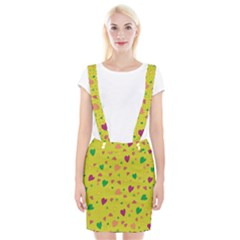 Colorful Hearts Suspender Skirt