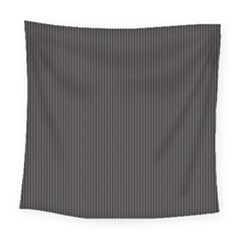 Gray Elegant Texture Square Tapestry (large) by Valentinaart