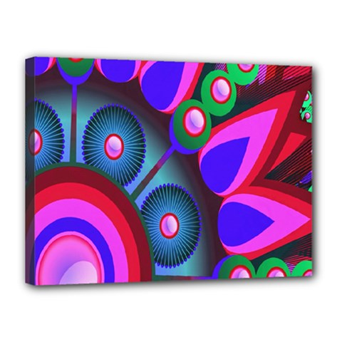 Abstract Digital Art  Canvas 16  X 12  by Nexatart