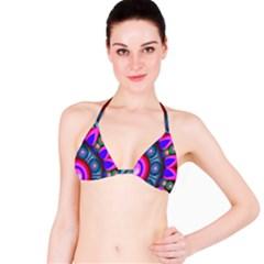 Abstract Digital Art  Bikini Top
