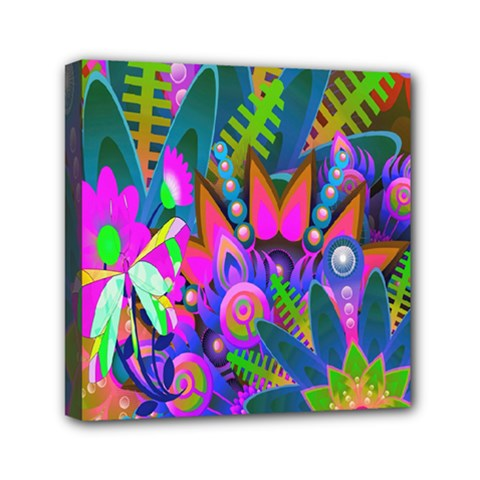 Abstract Digital Art  Mini Canvas 6  X 6