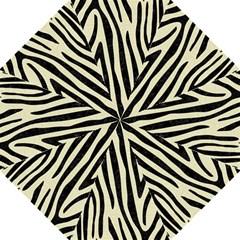 Skin4 Black Marble & Beige Linen Hook Handle Umbrella (large) by trendistuff