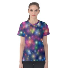 Abstract Background Graphic Design Women s Cotton Tee