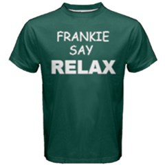 Green Frankie Say Relax  Men s Cotton Tee